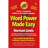 Word Power Made Easy paperback Fully Revised & Expanded, complete handbook for superior vocabulary by Norman Lewis, must read