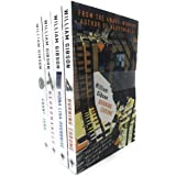 William Gibson Neuromancer Collection 4 Books Bundle With Gift Journal (Neuromancer, Count Zero, Mona Lisa Overdrive, Burning