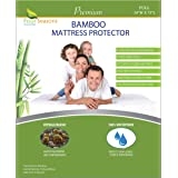Four Seasons Essentials Bamboo Mattress Protector - Full Size