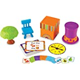 Learning Resources Fox in a Box - Position Word Activity Set,Multicolor