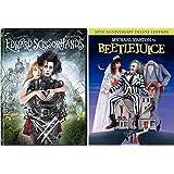 Edward Scissorhands & Beetlejuice Johnny Depp Tim Burton Fantasy Action set