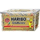Haribo Goldbears Original Flavor, 22.8 oz. Tub containing 54 - .4 oz. Bags
