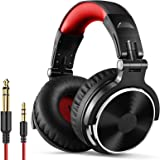 OneOdio Over Ear Headphone, Wired Bass Headsets 50mm Driver, Foldable Lightweight Headphones Shareport Mic Recording Monitori