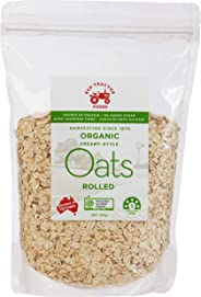 Red Tractor Foods Organic Rolled Oats 700g, 700 kg