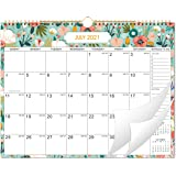 "2021 Wall Calendar - Monthly Wall Calendar 2021 with Julian Dates, 15"" x 11.5"", Jan 2021 - Dec 2021, Twin-Wire Binding, Blank"