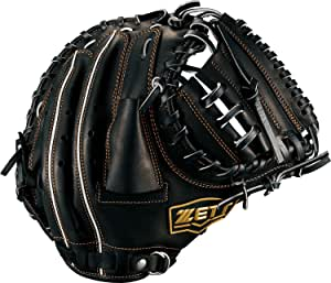ZETT(ゼット) 少年野球 軟式 キャッチャーミット グランドヒーローライジング 捕手 右投用 ブラック(1900) LH BJCB71812