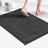 MAYSHINE Bath Mats for Bathroom Rugs Soft, Absorbent, Shaggy Microfiber,Machine-Washable, Perfect for Door Mat (17x24 inches,