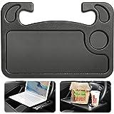 Cutequeen Black car Laptop/Eating Wheel Desk (Pack of 1)