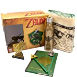 CultureFly Legend of Zelda Collector's Box | Contains 6 Exclusive Items Including Map Blanket, Link Pin, Gold Hylian Shield V