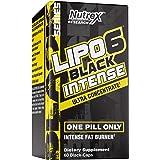 Nutrex Research, Lipo-6 Black Intense, Ultra Concentrate, 60 Black-Caps