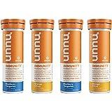 Nuun Immunity: Antioxidant Immune Support Hydration Supplement with Vitamin C, Zinc, Turmeric, Elderberry, Ginger, Echinacea,