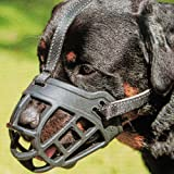 Dog Muzzle,Soft Basket Silicone Muzzles for Dog, Best to Prevent Biting, Chewing and Barking, Allows Drinking and Panting, Us