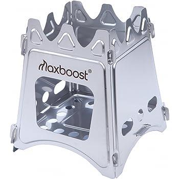 Maxboost(マックスブースト) フォールディングウッドストーブ (専用収納バッグ付き) [無期限保証] TMX11-SF21JF001