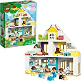 LEGO DUPLO Town Modular Playhouse 10929 Dollhouse with Furniture and a Family, Great Educational Toy for Toddlers, New 2020 (