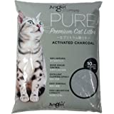 Angel Pure Premium Activated Charcoal Cat Litter, 10L