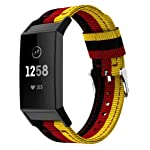 Nylon Band Replacement for Fitbit Charge 3 Wristband Fitbit Bands Casual Design