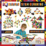 IQ BUILDER   STEM Learning Toys   Creative Construction Engineering   Fun Educational Building Toy Set for Boys and Girls Age