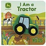 I Am a Tractor (John Deere Finger Puppet Book)