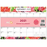 Bright Day Calendars New 2021 Desk Pad Office Calendar by Bright Day, 16 Month 15.5 x 11 Inch, Cute Colorful Planner… (Rosa