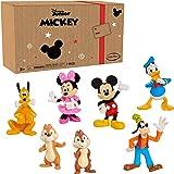 Disney 38621 Mickey Mouse 7-Piece Figure Set Amazon Exclusive (Branded Mailer) Figure