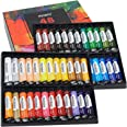 MEEDEN Acrylic Paint Set of 48 Vibrant Colors in Tubes(48 x 22ml), Non Toxic Rich Pigments Colors Great for Artist Kids Adult