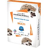 Hammermill Printer Paper, Premium Inkjet & Laser Paper 24 Lb, 8.5 x 11 - 1 Ream (500 Sheets) - 97 Bright, Made in the USA, 16