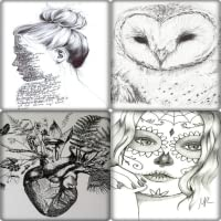 Cool Art Drawing Designs