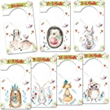Baby Closet Size Dividers, Woodland Animal Clothes Organizer, Baby Closet Dividers from Newborn Infant to 24 Months, Baby Sho