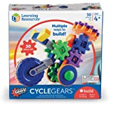 Learning Resources LER9231 Gears! Gears! Gears! CycleGears Building Set (30 Piece),Multi-color