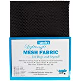 "Annie by Annie Mesh Fabric Lightweight 18""x 54"" Black, PBA02030, Black, 18"" by 54"""