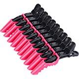 Hair Clips for Women by HH&LL – Wide Teeth & Double-Hinged Design – Alligator Styling Sectioning Clips of Professional Hair S