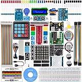 SunFounder Raspberry pi スターター電子工作キット,ラズベリーパイ初心者向けプログラミング,詳細な教本と豊富な学習用レッスン付き,Raspberry pi 4B/3B+/3B/400/3A+/2B/1B+/1A+/Zero W/