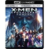 X-MEN:アポカリプス(3枚組)[4K ULTRA HD + 3D + Blu-ray]