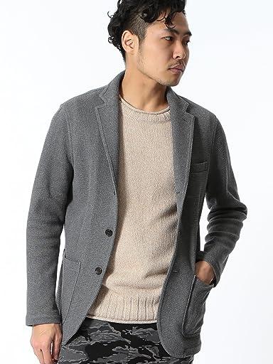 Raschel Knit 3-button Jacket 51-16-0232-901: Grey