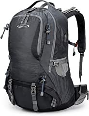 G4Free Hiking Backpack Outdoor Camping Climbing Backpack for Backpacker with Rain Cover