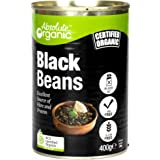 Absolute Organic Black Beans, 400g