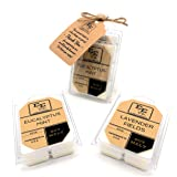 All Natural Soy Wax Melts (2 Pack) by E&E Company - Long Lasting Fragrances Infused with Essential Oil - Scented Soy Wax Cube