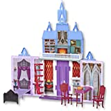 Hasbro E5511AS1 Disney frozen 2- Fold & Go Arendelle 78cm Castle Play Set- Adventures on the Go- Toys for kids, girls, boys-