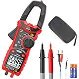 KAIWEETS Digital Clamp Meter T-RMS 6000 Counts, Multimeter Voltage Tester Auto-ranging, Measures Current Voltage Temperature