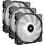 Corsair AF120 LED, 120mm Low Noise Cooling Fan - White LED (Triple Pack)