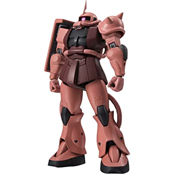 ROBOT魂 機動戦士ガンダム [SIDE MS] MS-06S シャア専用ザク ver. A.N.I.M.E. 約125mm ABS&PVC製 塗装済み可動フィギュア