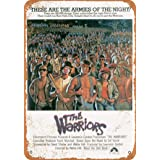 AMELIA SHARPE Vintage Retro Collectible tin Sign - 1979 The Warriors Movie -Wall Decoration 12x8 inch Poster Home bar Restaur