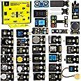 KEYESTUDIO 37 in 1 Sensor Kit Programming Starter Kit for Arduino Raspberry Pi Learning Project STEM Education, Electronics C