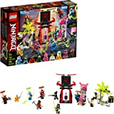 LEGO NINJAGO Gamer's Market 71708 Ninja Market Building Kit, New 2020 (218 Pieces)
