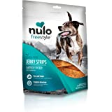 Nulo Puppy & Adult Freestyle Jerky Dog Strips: Natural Healthy Real Meat Grain Free Dog Treats for Training Or Reward (Salmon