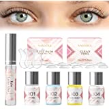 VASSOUL Lash Lift Kit, Eyelash Perm Kit, Professional Eyelash Lash Extensions, Lash Curling, Semi-Permanent Curling Perming W