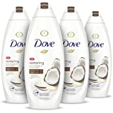 Dove Body Wash 100% Gentle Cleansers, Sulfate Free Restoring Coconut and Cocoa Butter Paraben Free and Sulfate Free Moisturiz