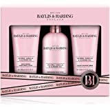 Baylis & Harding Jojoba, Vanilla & Almond Oil 3 Piece Set (Packaging may vary)