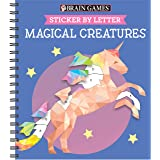 Brain Games Sticker by Letter Magical Creatures [with Sticker(s)]