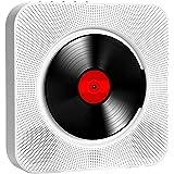Prettyia Bluetooth CD Player Wall Mountable USB TF AUX Input Audio Boombox w/Headphone Jack (AU Plug)